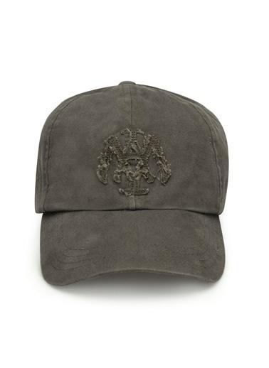 Mavi Erkek  Mühür Logo Şapka 090290-28833 Yeşil
